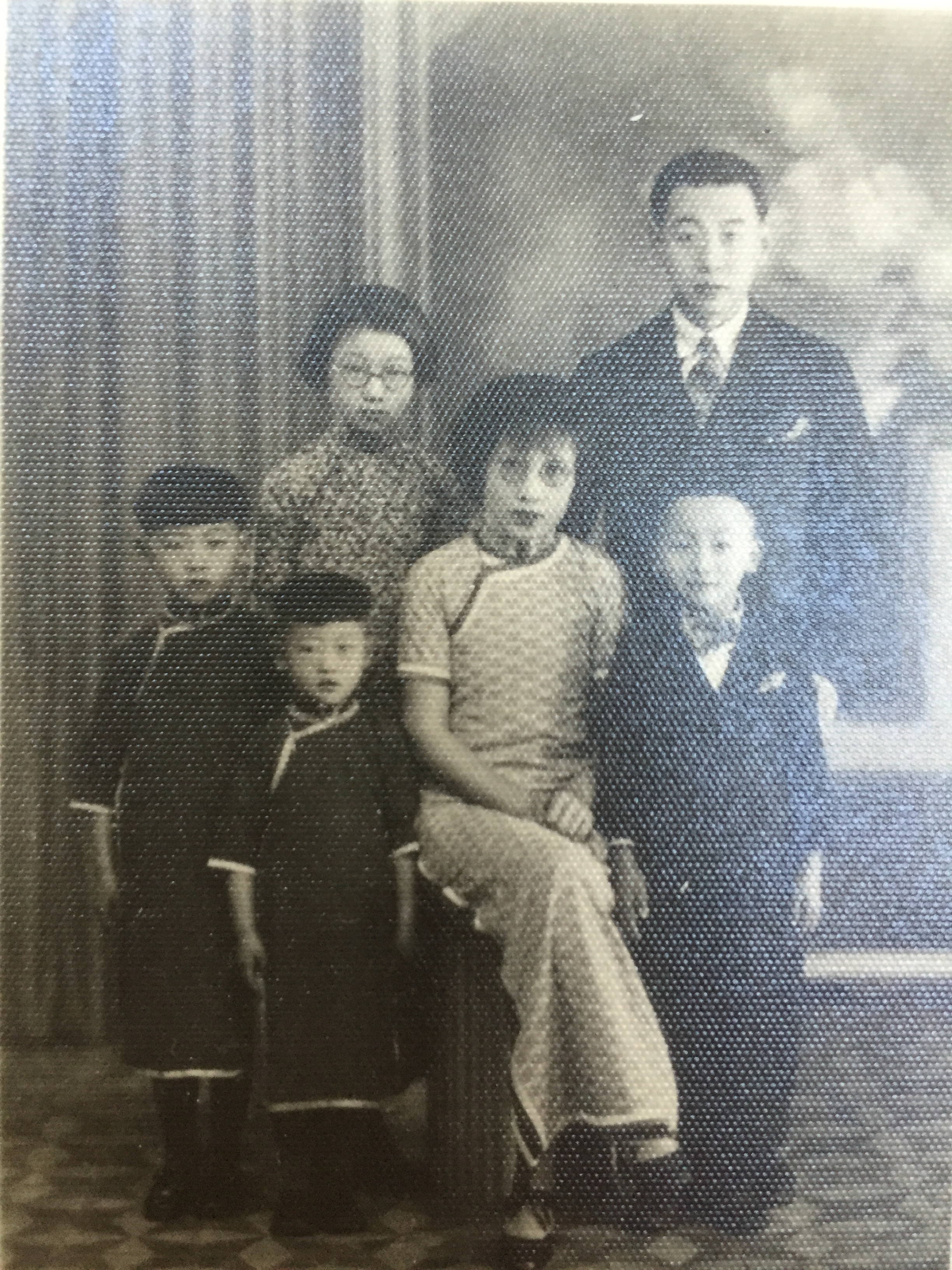 Kuan family in China. Image courtesy Ami Kuan Danoff