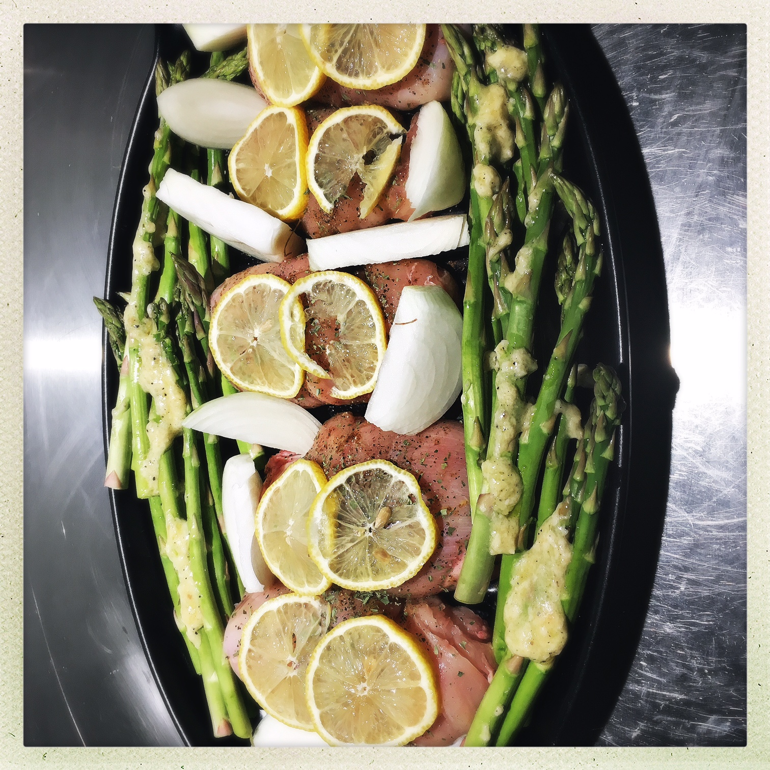 Saltimboccas on tray for oven.jpg