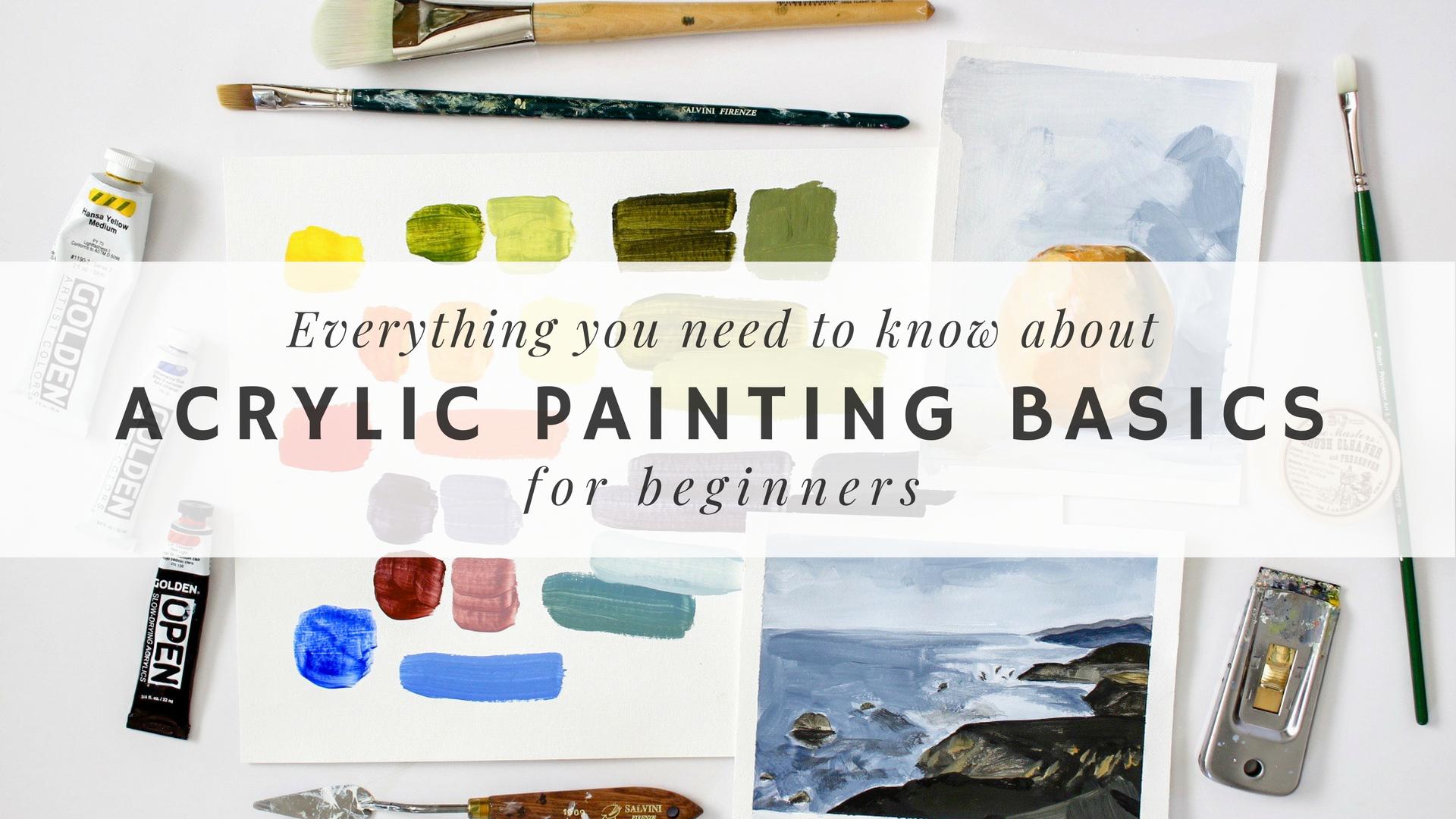 Acrylic Painting Basics