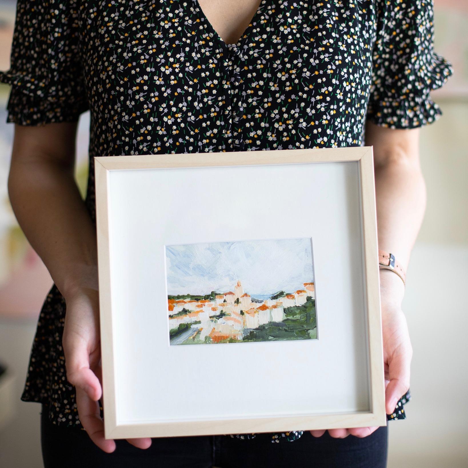 DIY Framing: How To Make A Big Impression With Tiny Art -