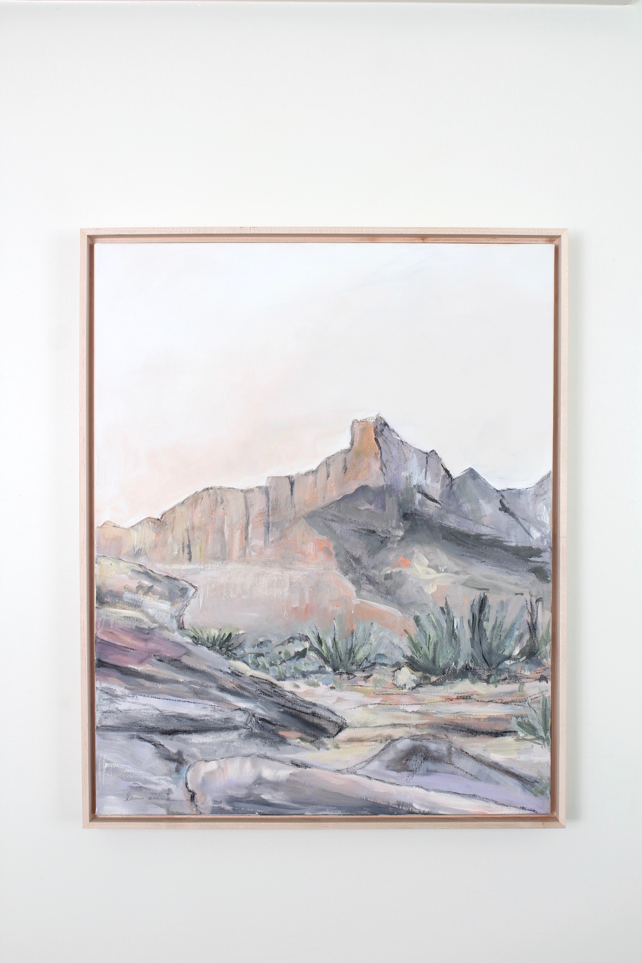 Laurie Anne Art Desert Sanctuary painting
