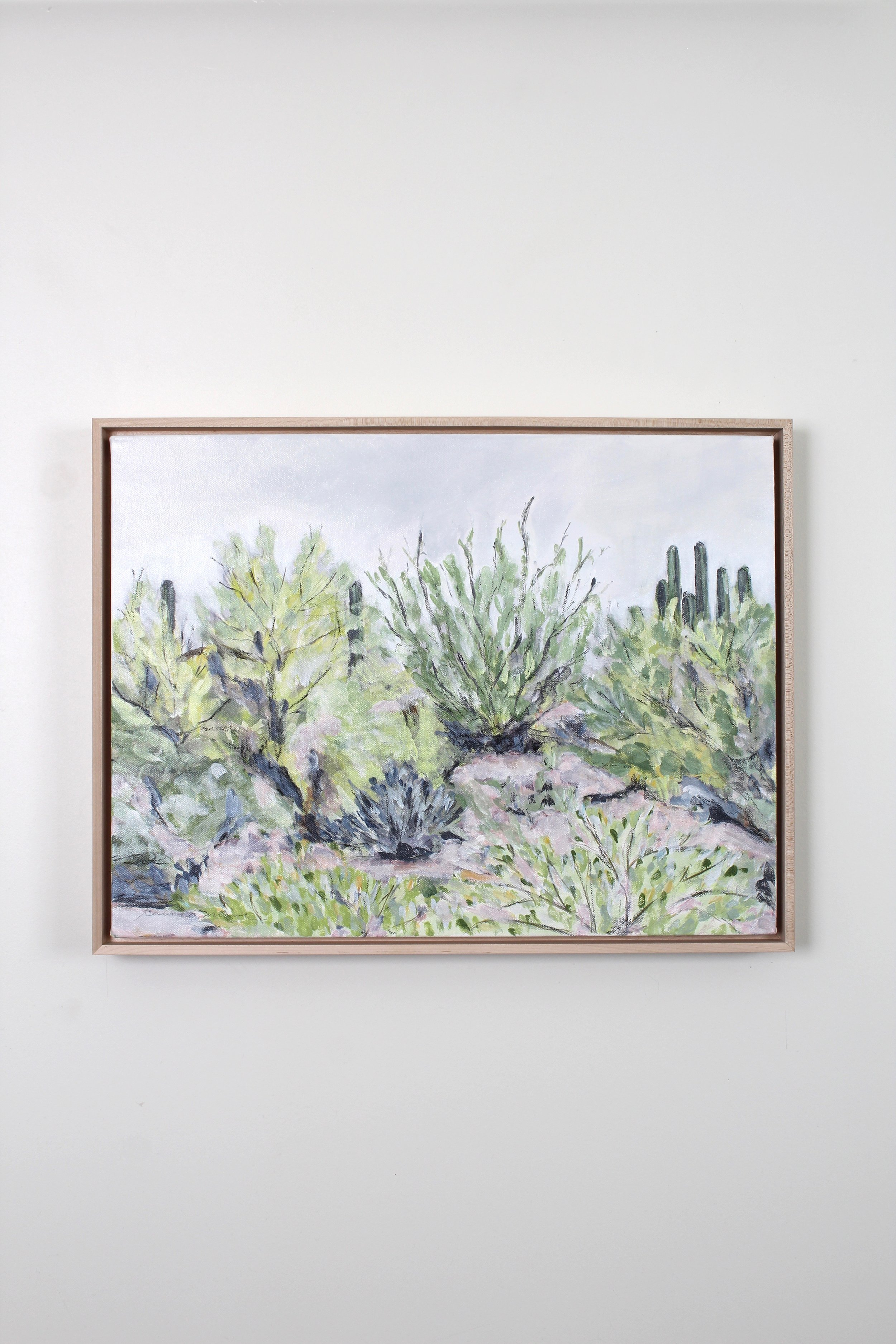 Laurie Anne Art desert plants painting