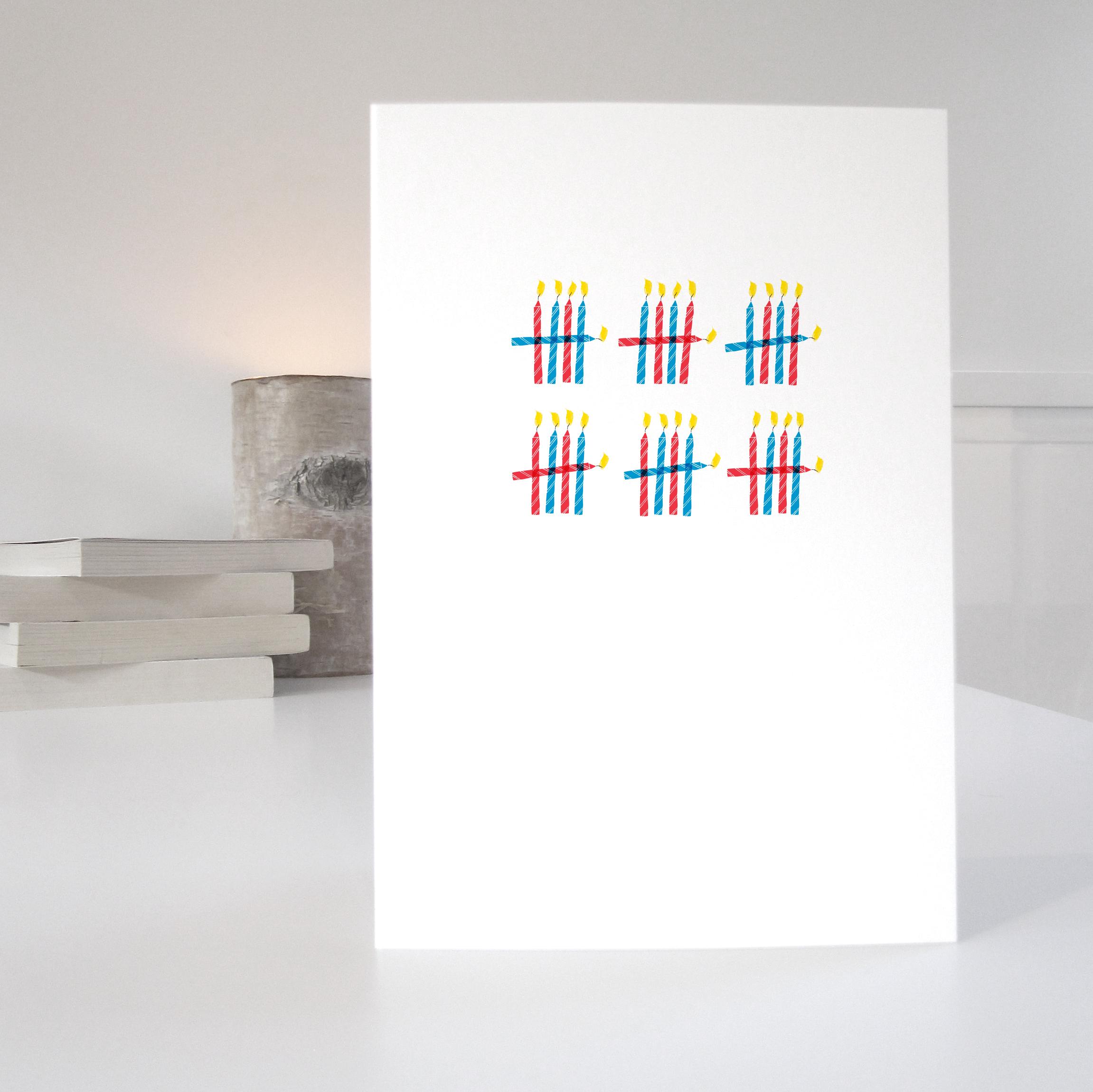 30th birthday card: NWC30