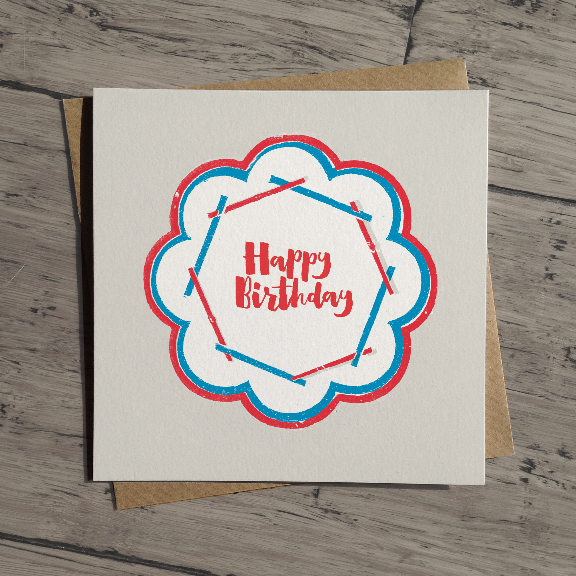 Happy Birthday card: WW03_HB