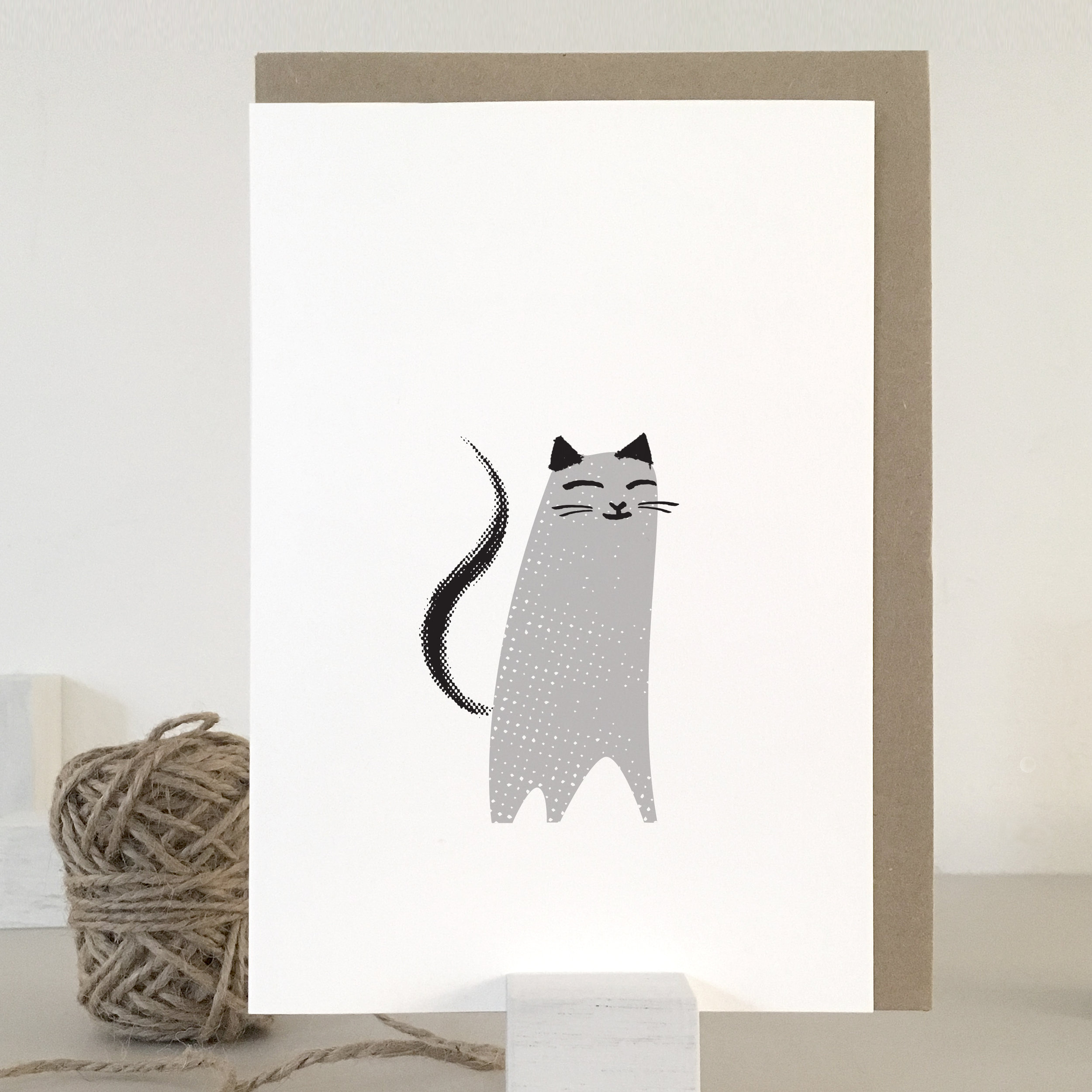 Sweet cat card