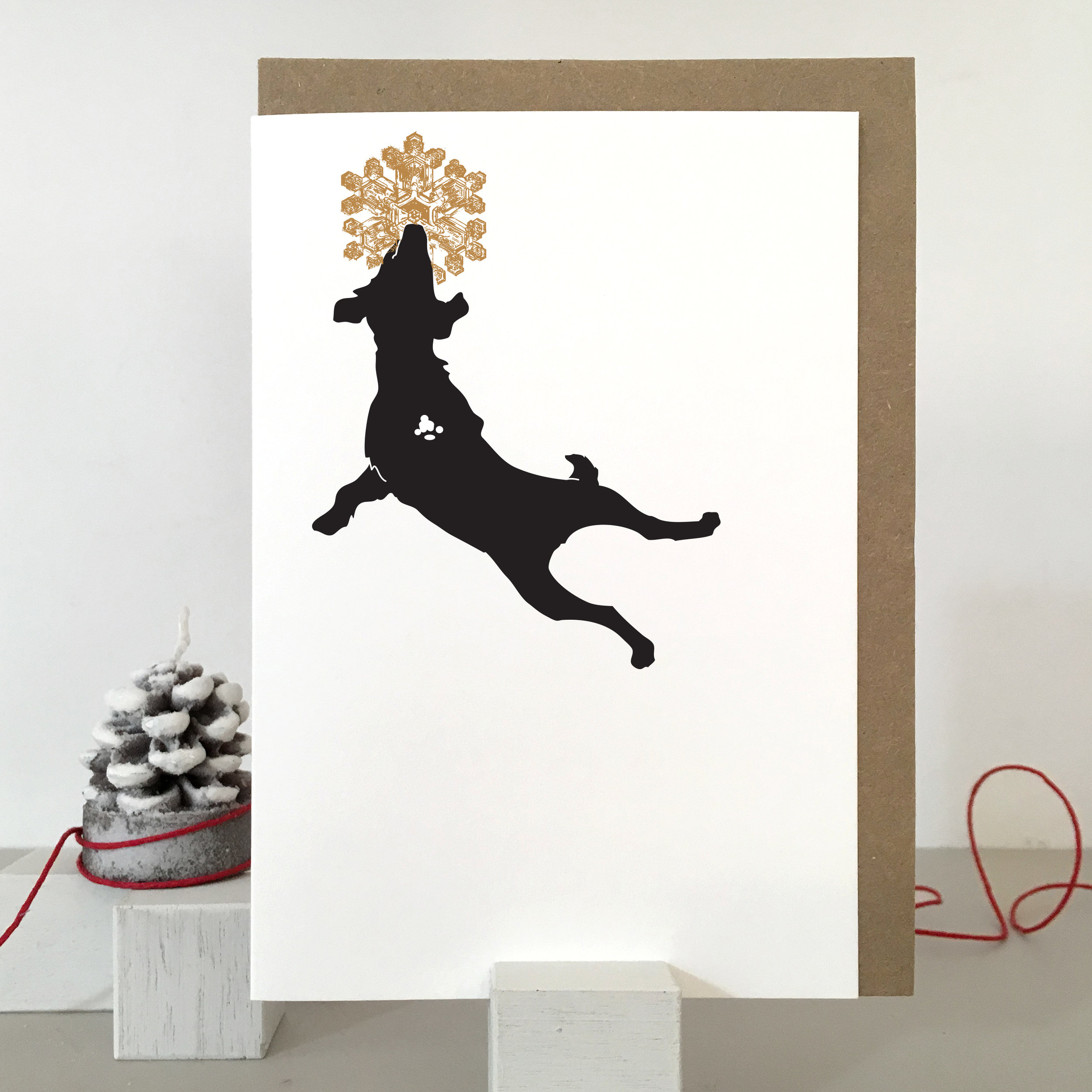 Dog Christmas Card: SB02