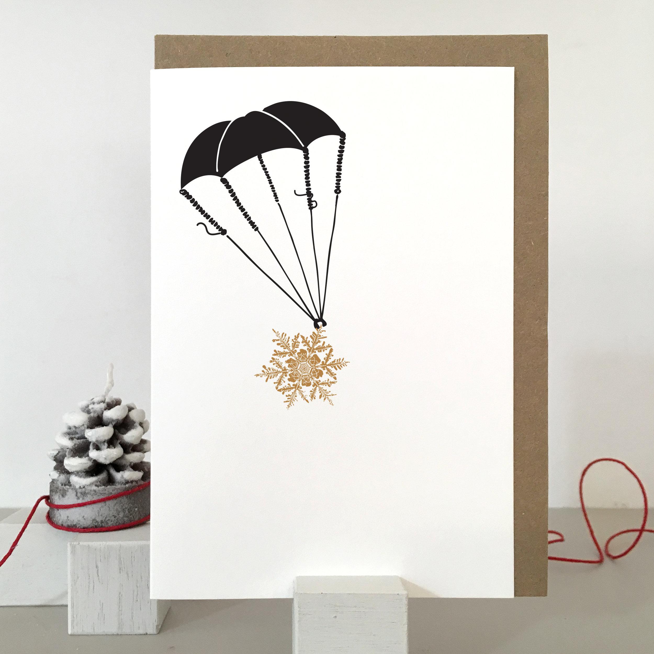 Skydiving Card: SF01_parachute