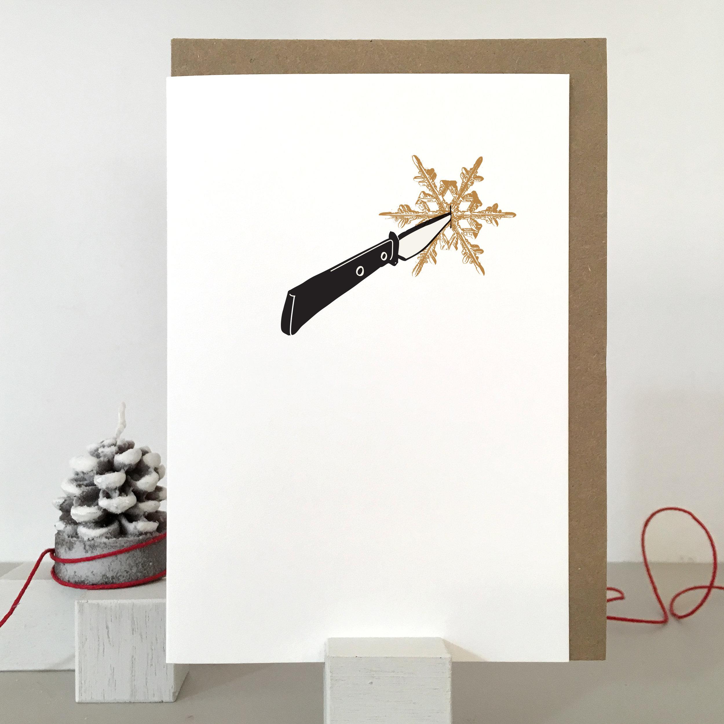 Grumpy Christmas Card: SF04_bah humbug