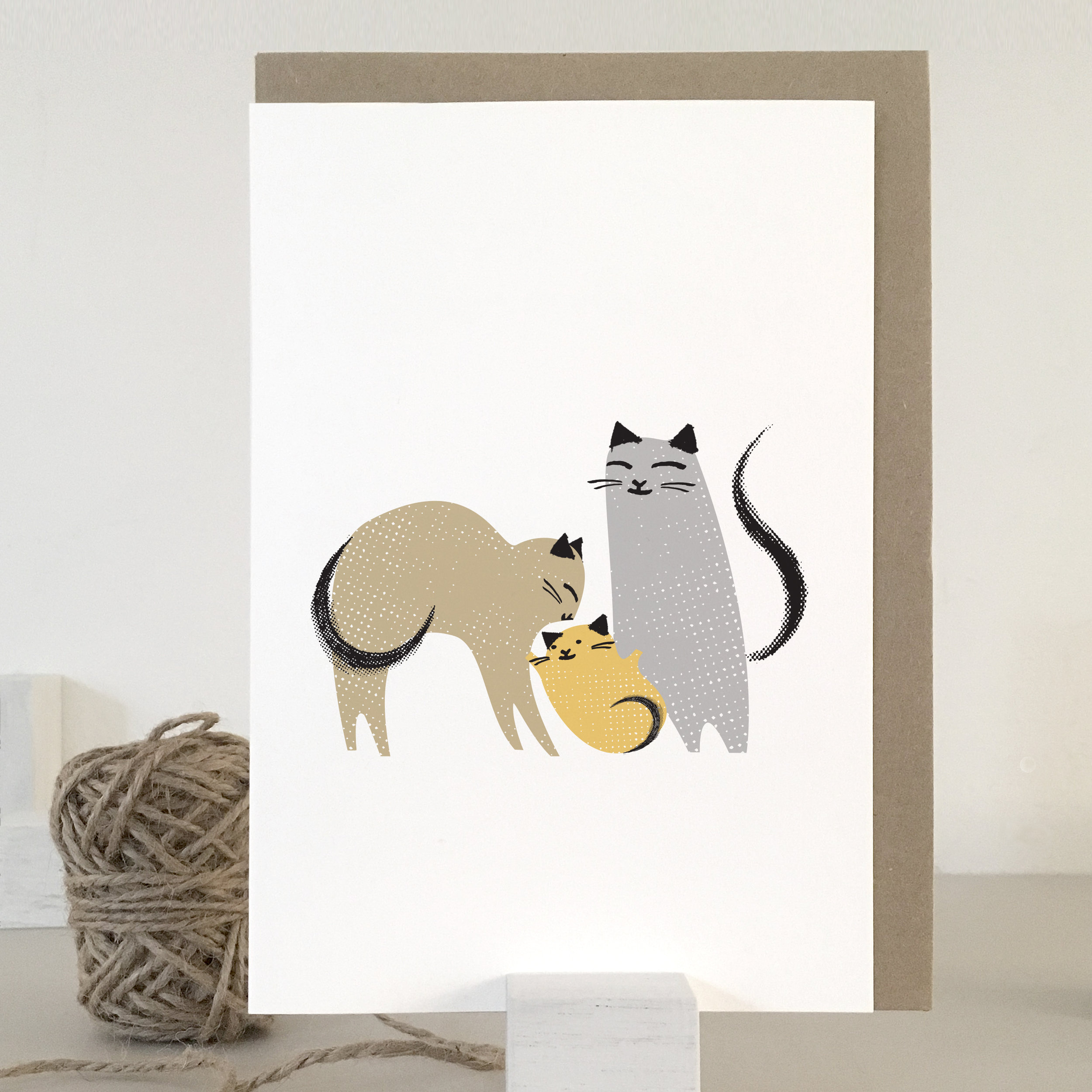 Fur baby family card: KC38