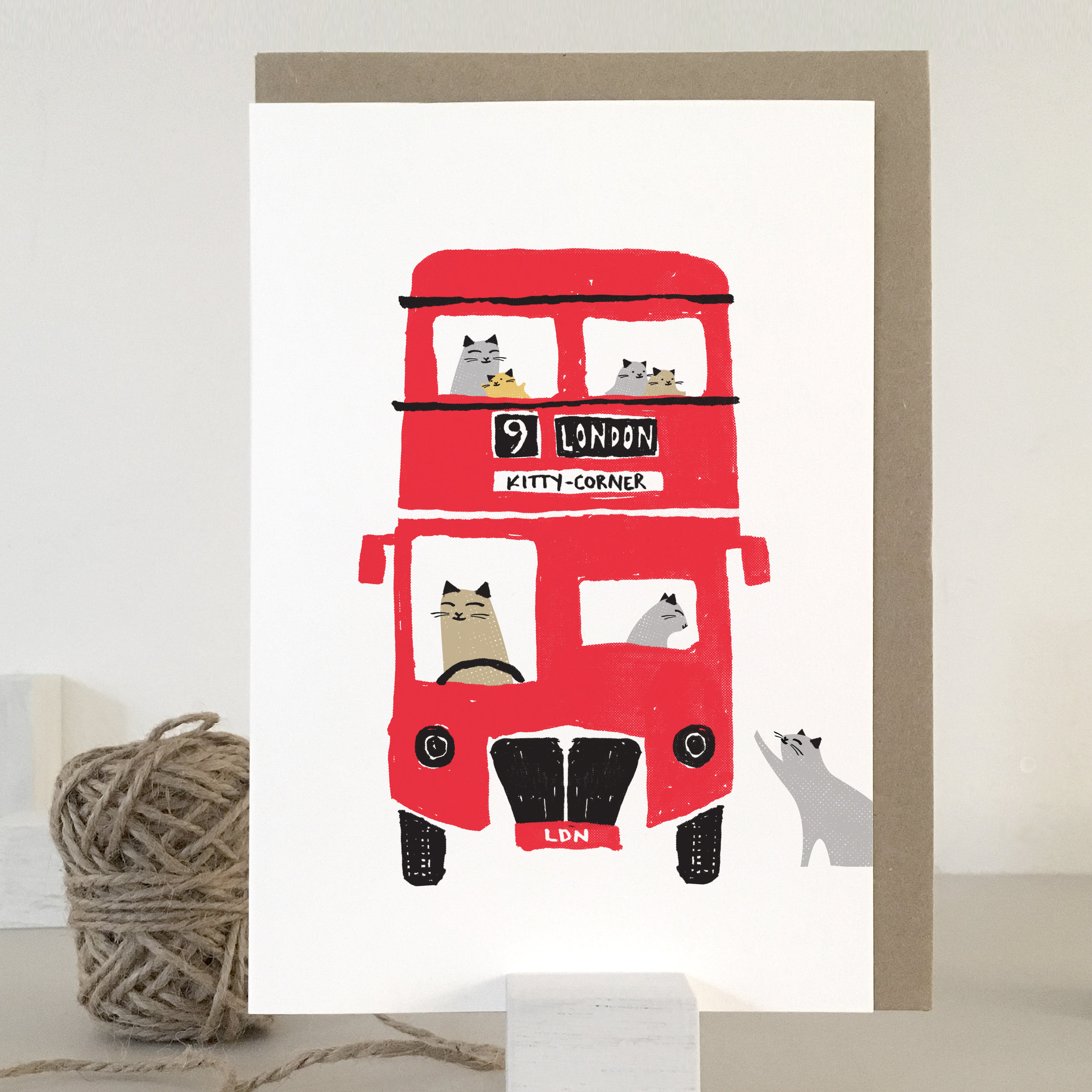 London Cats card: KC50