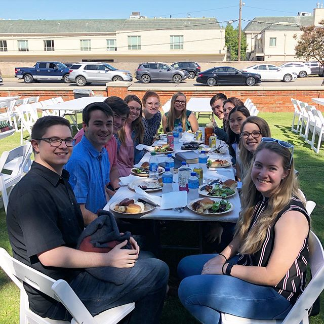 Lunch on the Lawn with the squad!
