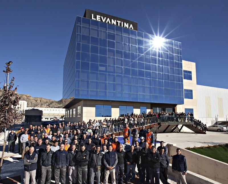 Más de 1500 personas en plantilla orgullosos de trabajar en LEVANTINA