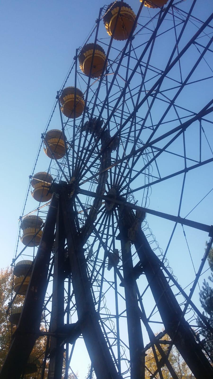 """Icónica imagen de Chernobyl donde se """"palpa"""" cómo se detuvo el tiempo en 1986"""
