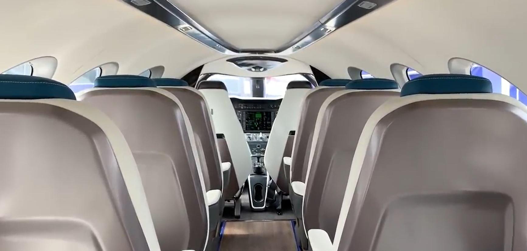 Imágenes reales del prototipo que a finales de 2019  efectuará las pruebas de vuelo