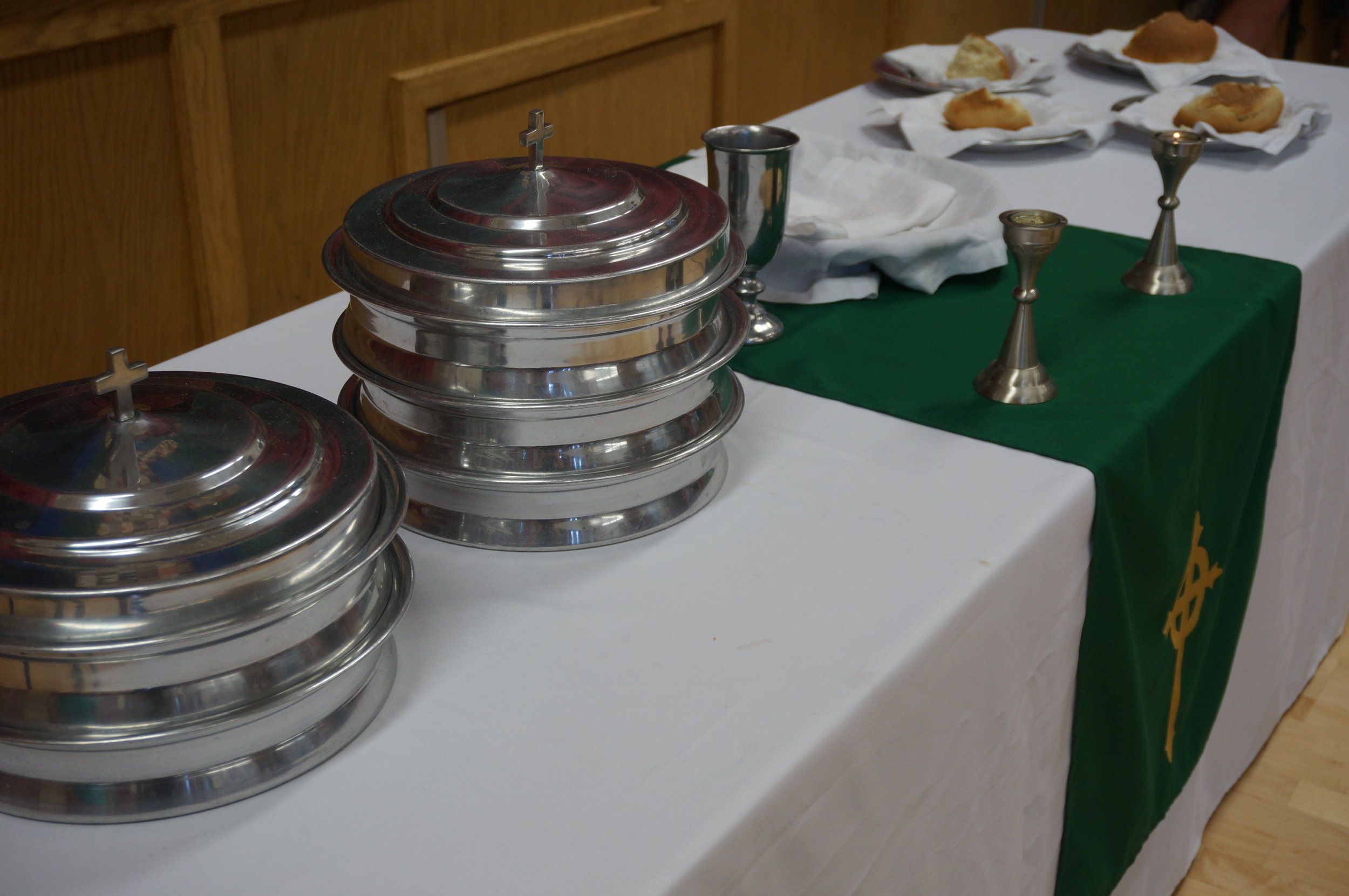 Communion Set-up -