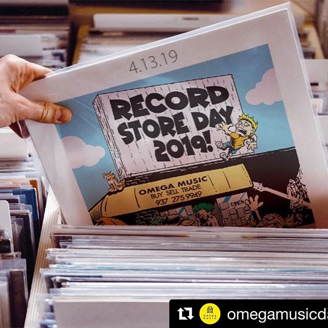 Record Store Day is this Saturday (4/13) and @omegamusicdayton has been prepping all week. Swag bags, games, coffee, food, beer, and live music! Sounds like the perfect #RSD2019 to us! . #Repost @omegamusicdayton with @get_repost ・・・ It's so close!! #RSD19 . 📸 Share your experience with us! @theoregondistrict #oregondistrict #theoregondistrict . #dayton #daytonohio #daytoninspires #downtowndayton #datedayton #dateyourcity #roamohio #inspiredbyohio #ohiofindithere #ohiobeautiful #ohioexplored #naturalohio #ohiomade #ohiogram #greatmiamiriverway #miamivalley #miamivalleyohio #shopsmall #shopsmallsaturday #shopsmalleveryday #supportlocalbusiness #supportindependentbusiness #localbusiness #independentbusiness