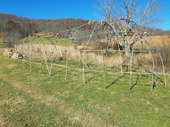 Shee-ah-ook Wee-gwum - Grandparent Lodge. Healing Circles, Sharing Circles and Healing Ceremonies took place in the pure energy of universal and natural law. Here Elders would balance our thinking and emotions through stories, teachings, and spiritual healing which in turn would heal our physical ailments.