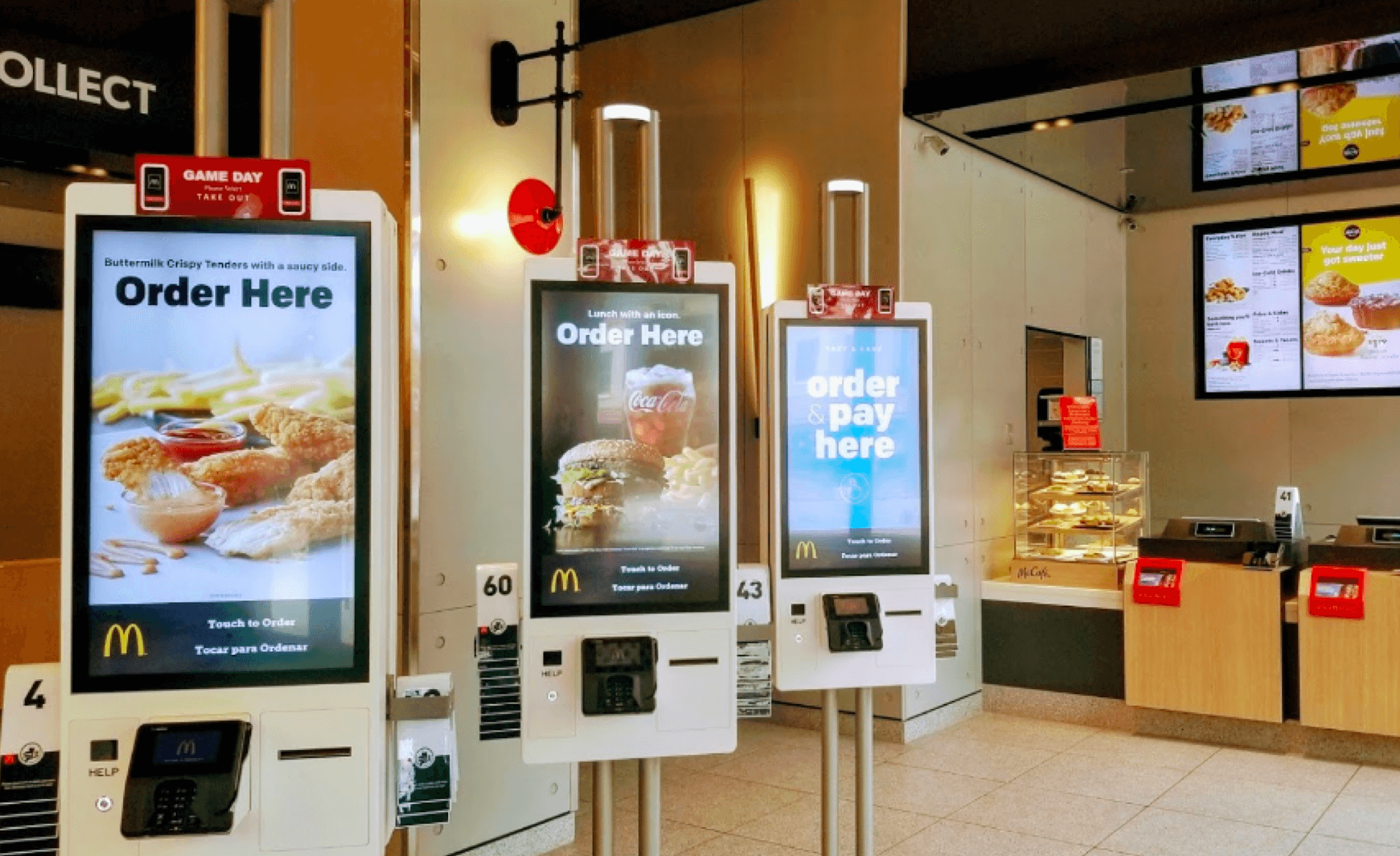 McDonald's - The McDonald's located inside Hotel Zachary offers a new level of choice, engagement and service featuring digital self-order kiosks, table service, mobile order and payment, as well as McDelivery via Uber Eats.3610 N Clark StreetChicago, IL 60613