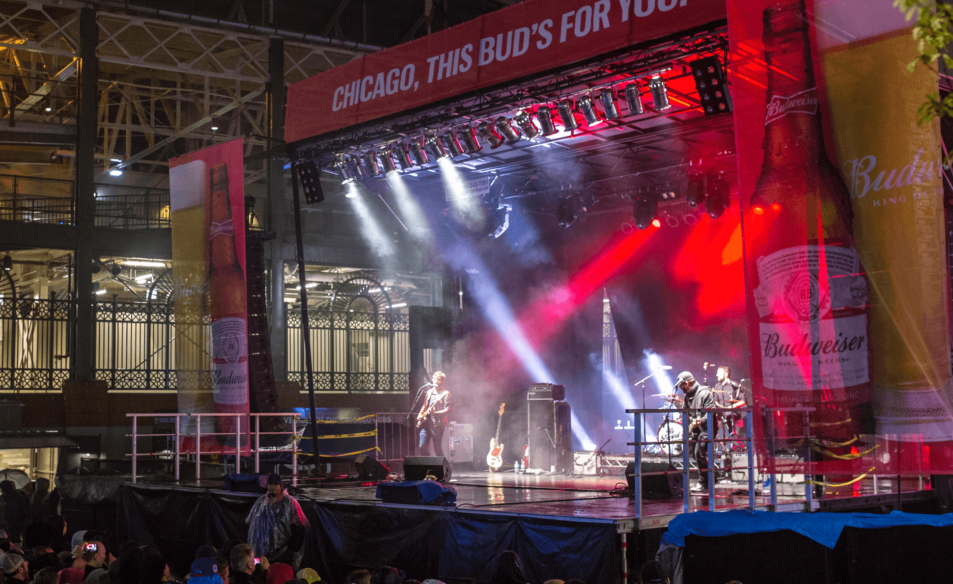 Budweiser Concert Series - Featuring artists including Capital Cities, The Record Company, Real Estate, Big Head Todd & The Monsters, JJ Grey & Mofro, Blackberry Smoke and J. Roddy Walston & the Business.
