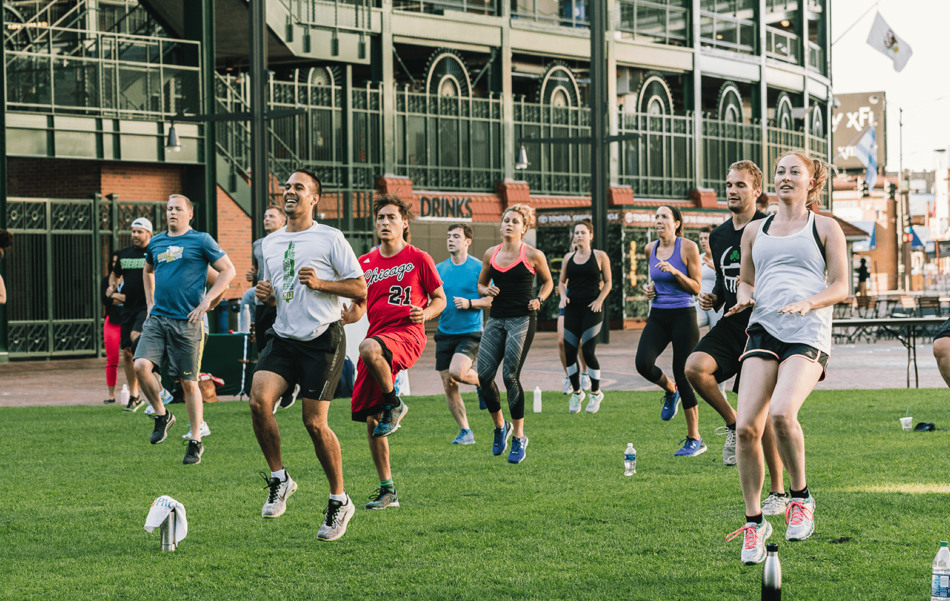 Fitness Series - Free fitness classes including Yoga, high intensity interval training and run club led by instructors from Chicago Athletic Clubs.