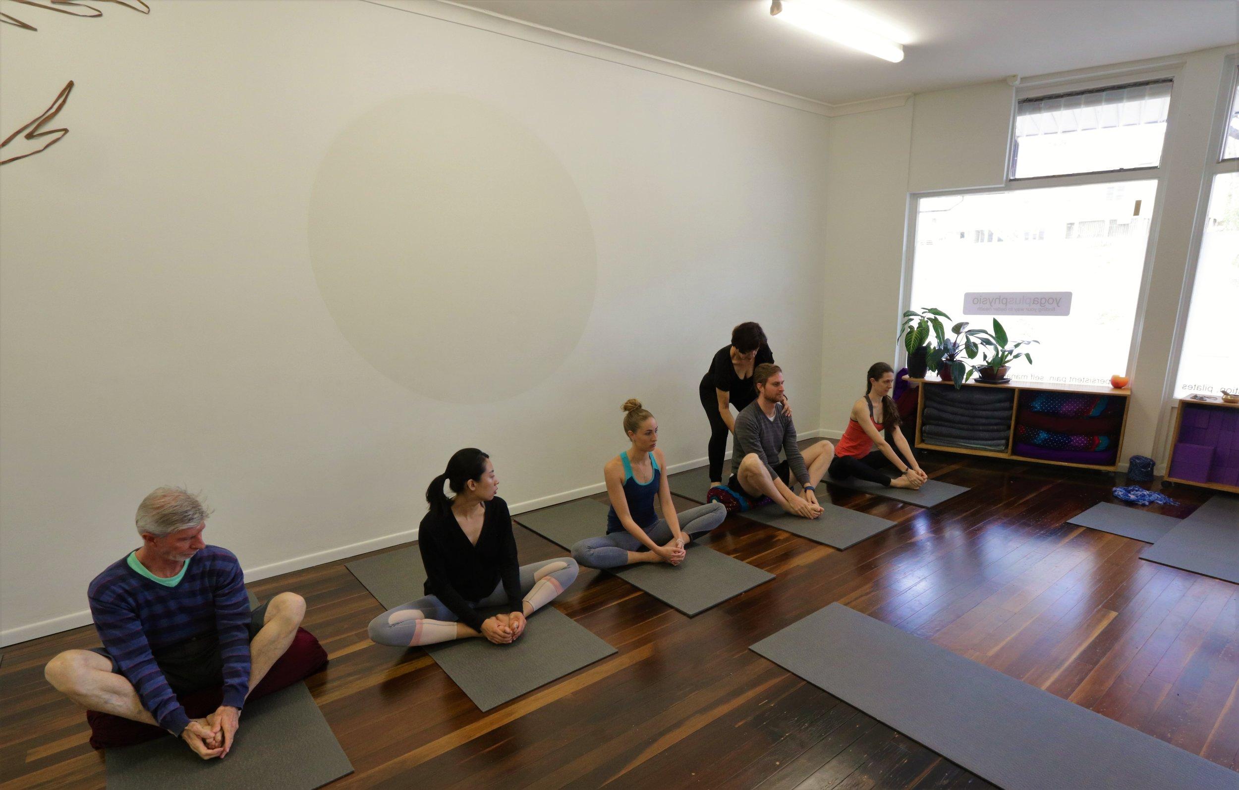 YogaPlusPhysio Classes