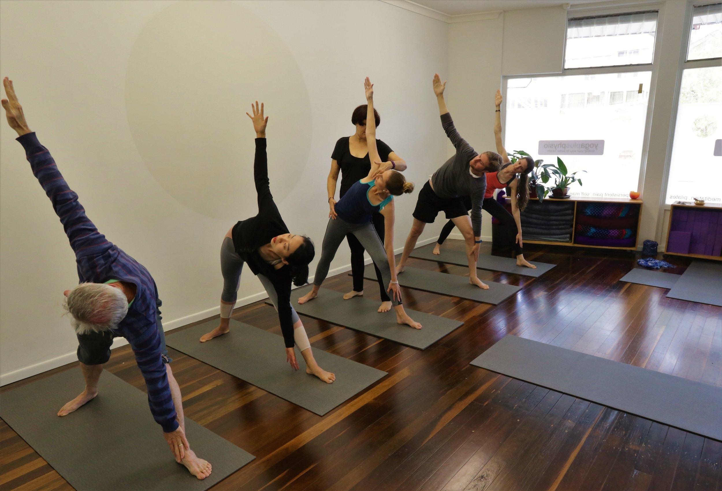Yoga Classes in The Gap
