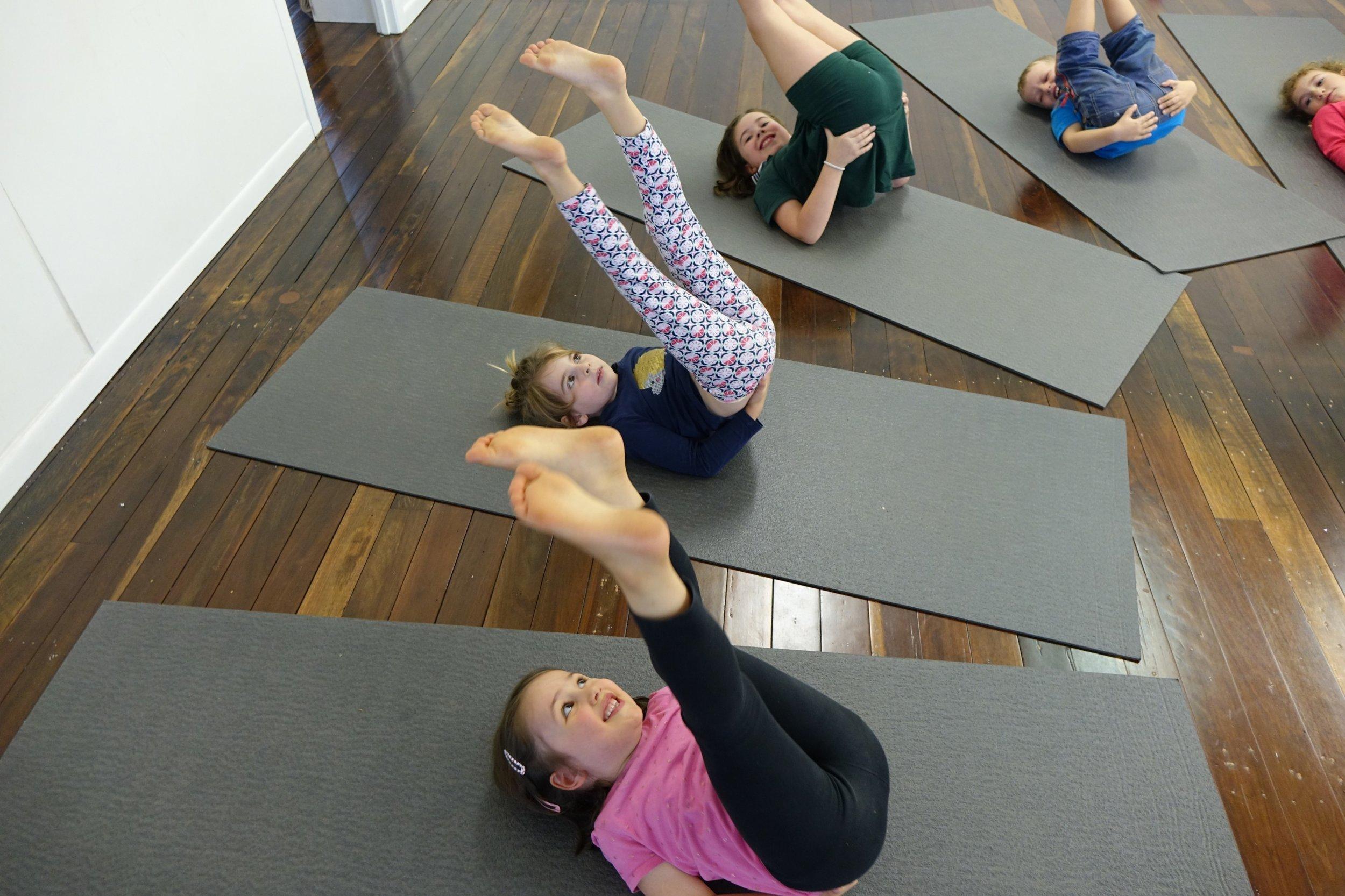 Kids Yoga The Gap