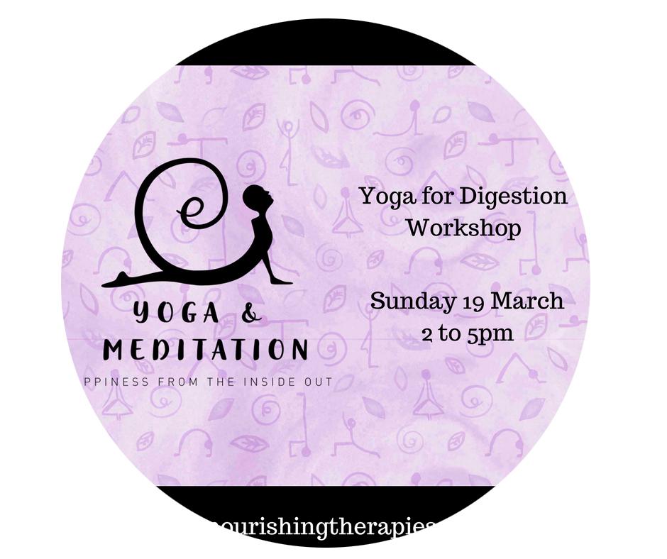 Yoga for Digestion Workshop