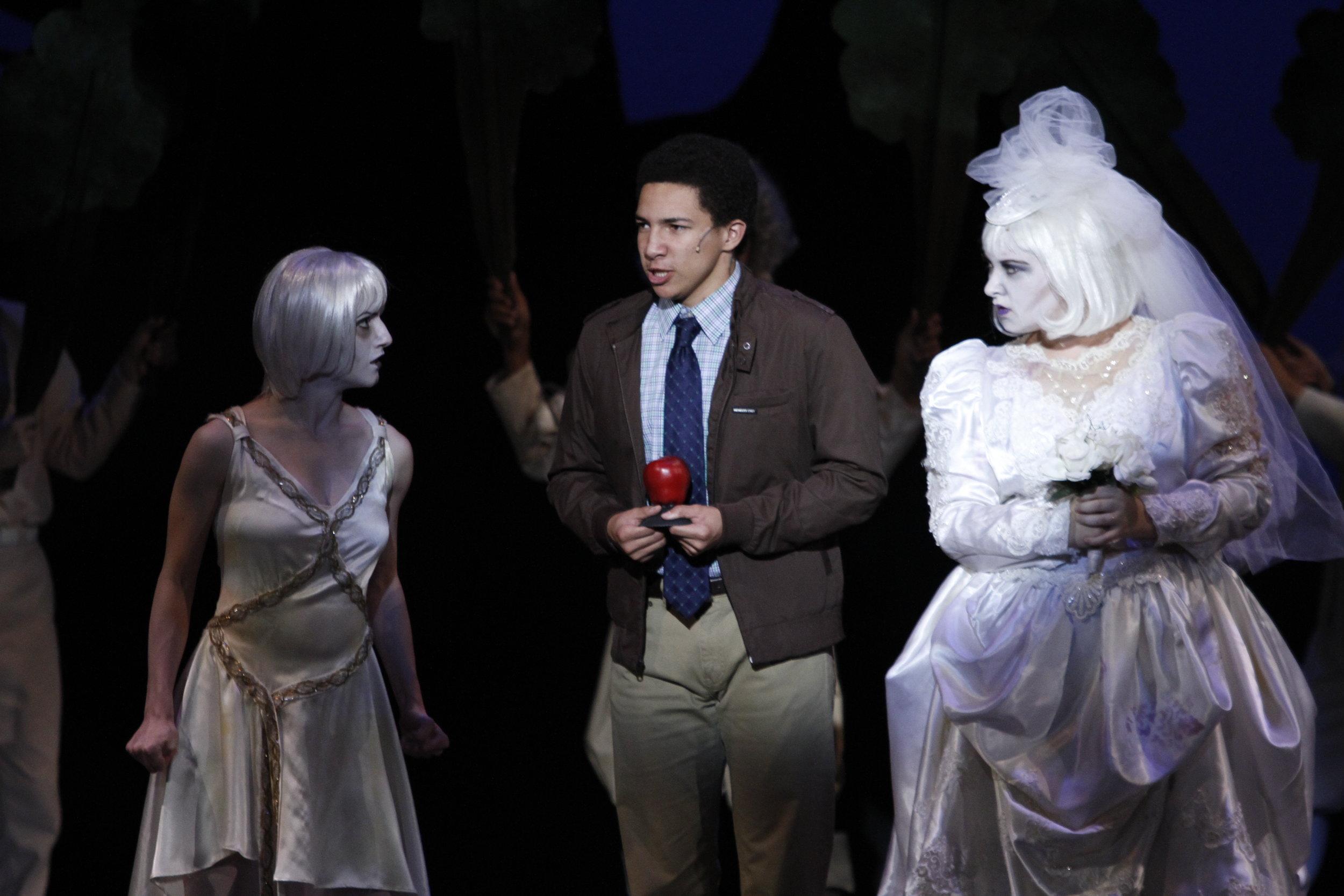 Bride Ancestor in The Addams Family