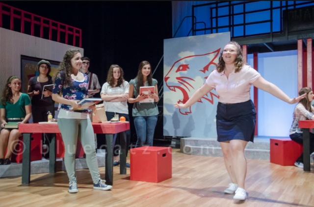 Martha Cox in High School Musical