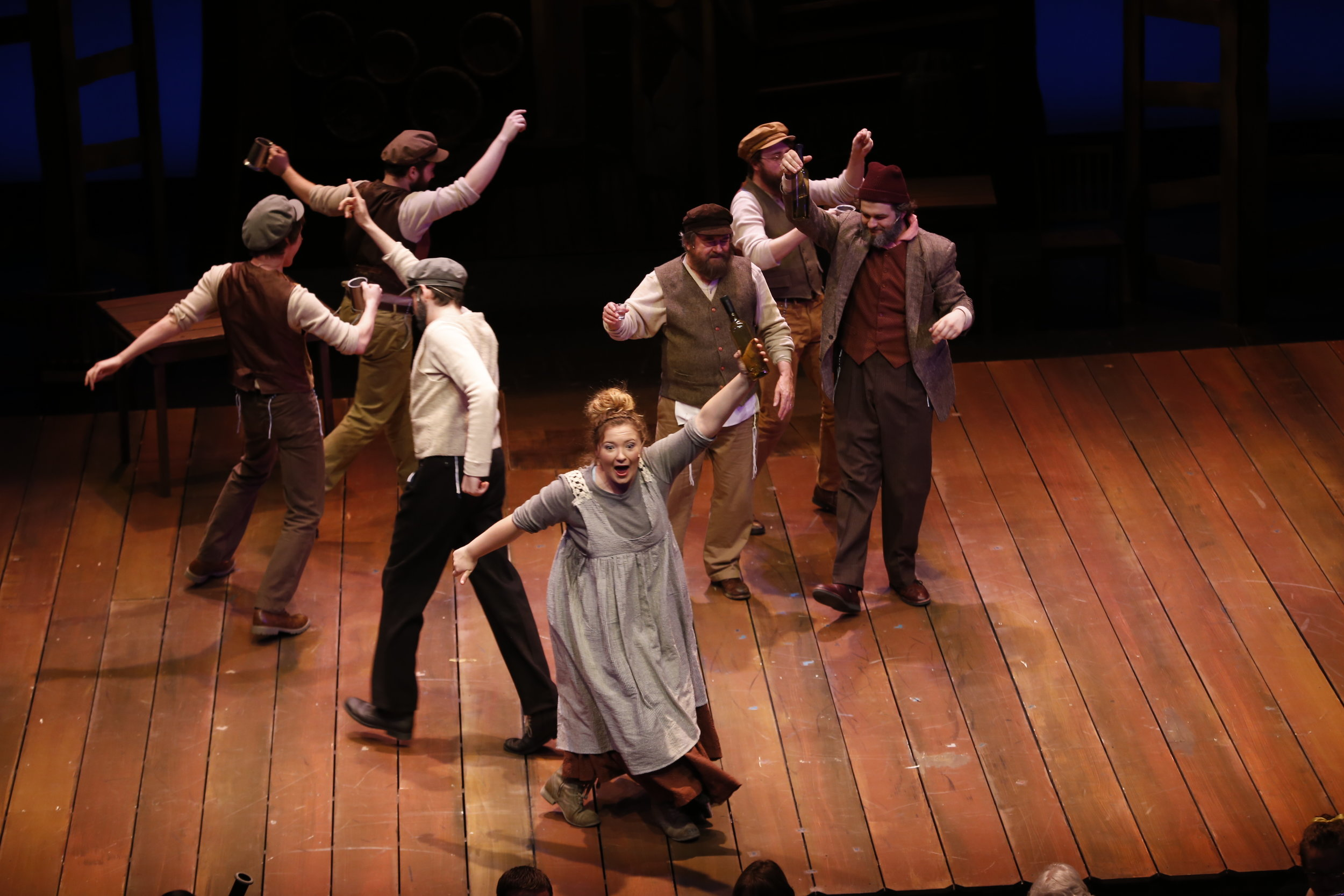 Ensemble in Fiddler on the Roof