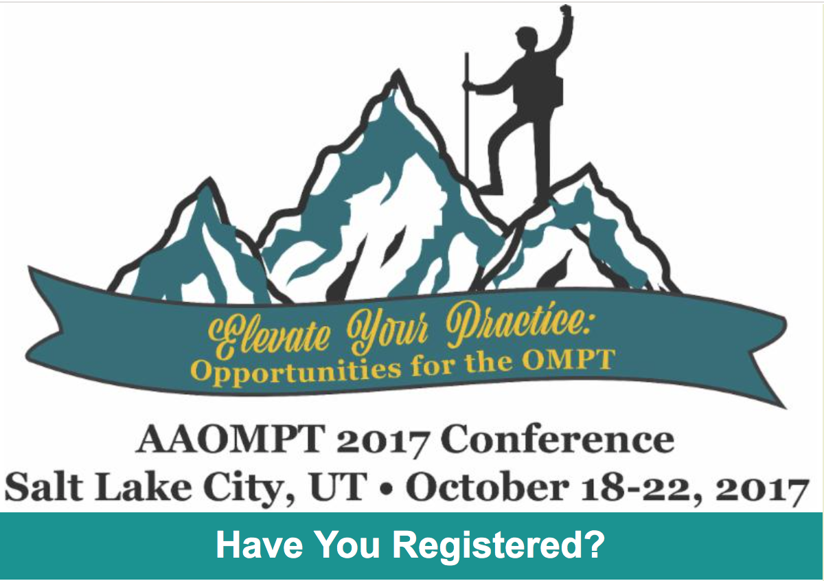 AAOMPT 2017 Conference