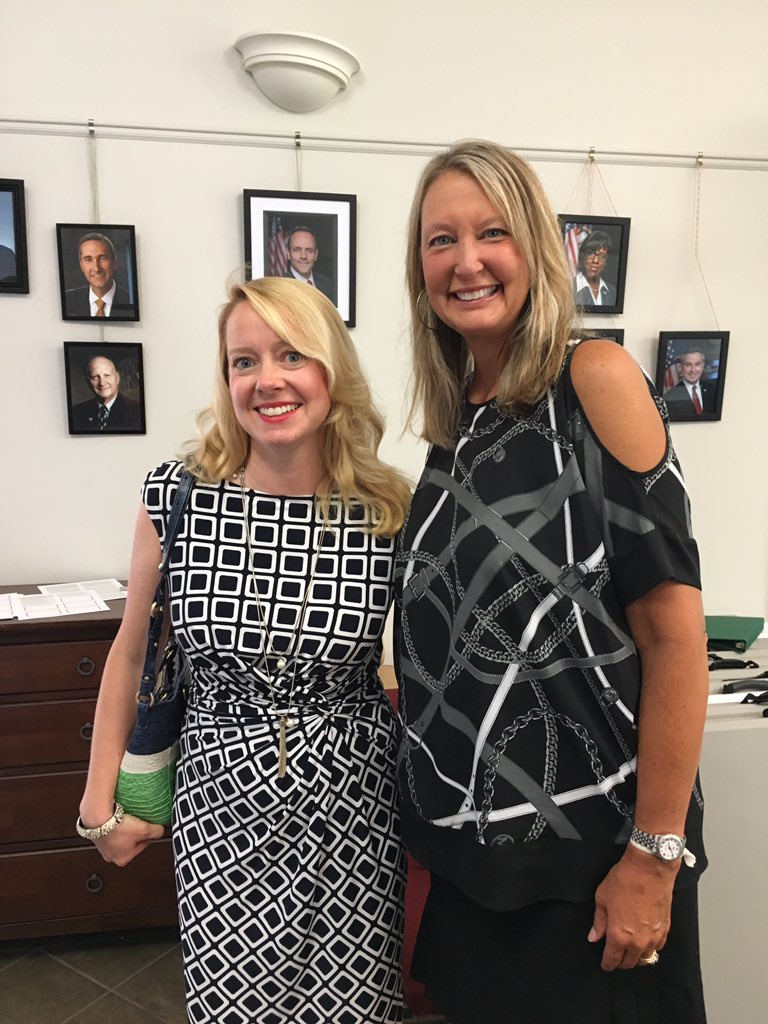 picture of me and Senator Julie Raque Adams.jpg
