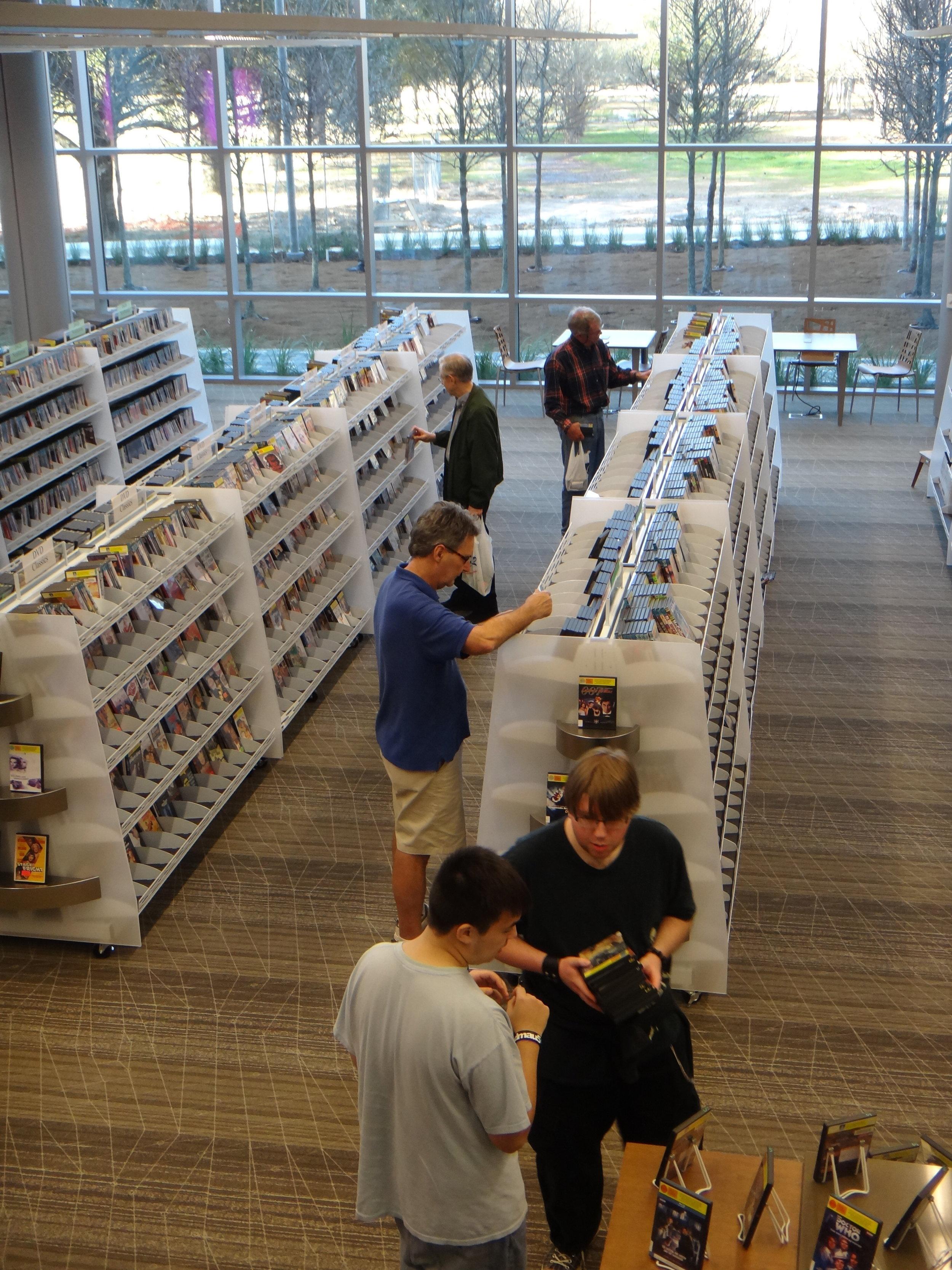 Main Library at Goodwood, LA