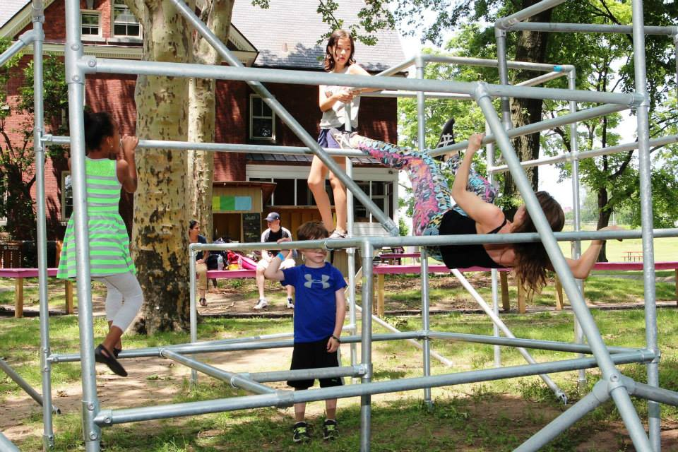 Popup Playground v 2   Playground Installation  Partners: Spontaneous Interventions, The Movement Creative, and The Trust for Governors Island 2015