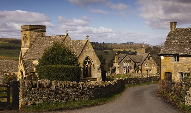 - Snowshill village - picture by Nick Turner, Cotswolds Conservation Board