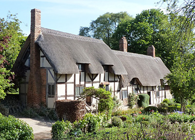 Anne Hathaway's Cottage - Stratford-upon-Avon - photo by    Quinsolve ©