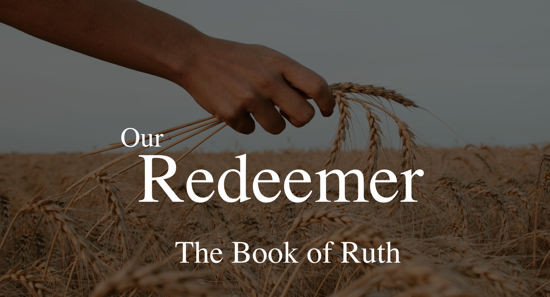 How does Ruth relate to the Gospel story as a whole? Listen to Pastor Will's sermon today, as we finished our final text in the Book of Ruth. To end this sermon series, we saw how Ruth relates to the Bible as a whole, and how our story relates to the larger story of redemption! -