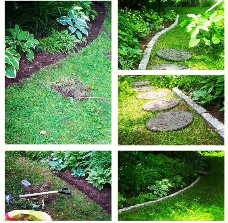 Edge, Mulch, Border and Walkway