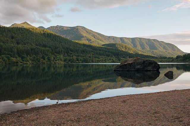northwoodswonder :      get-lost-in-the-trees :      hippie-tranquility :      getlost-in-nature :      vhord :      vhord :      Rattlesnake Lake  by  Jared Atkins  on Flickr.     strictly nature      Explore The World             I can only imagine how magnificent a world undesecrated by humanity, and untouched by civlization would be     +