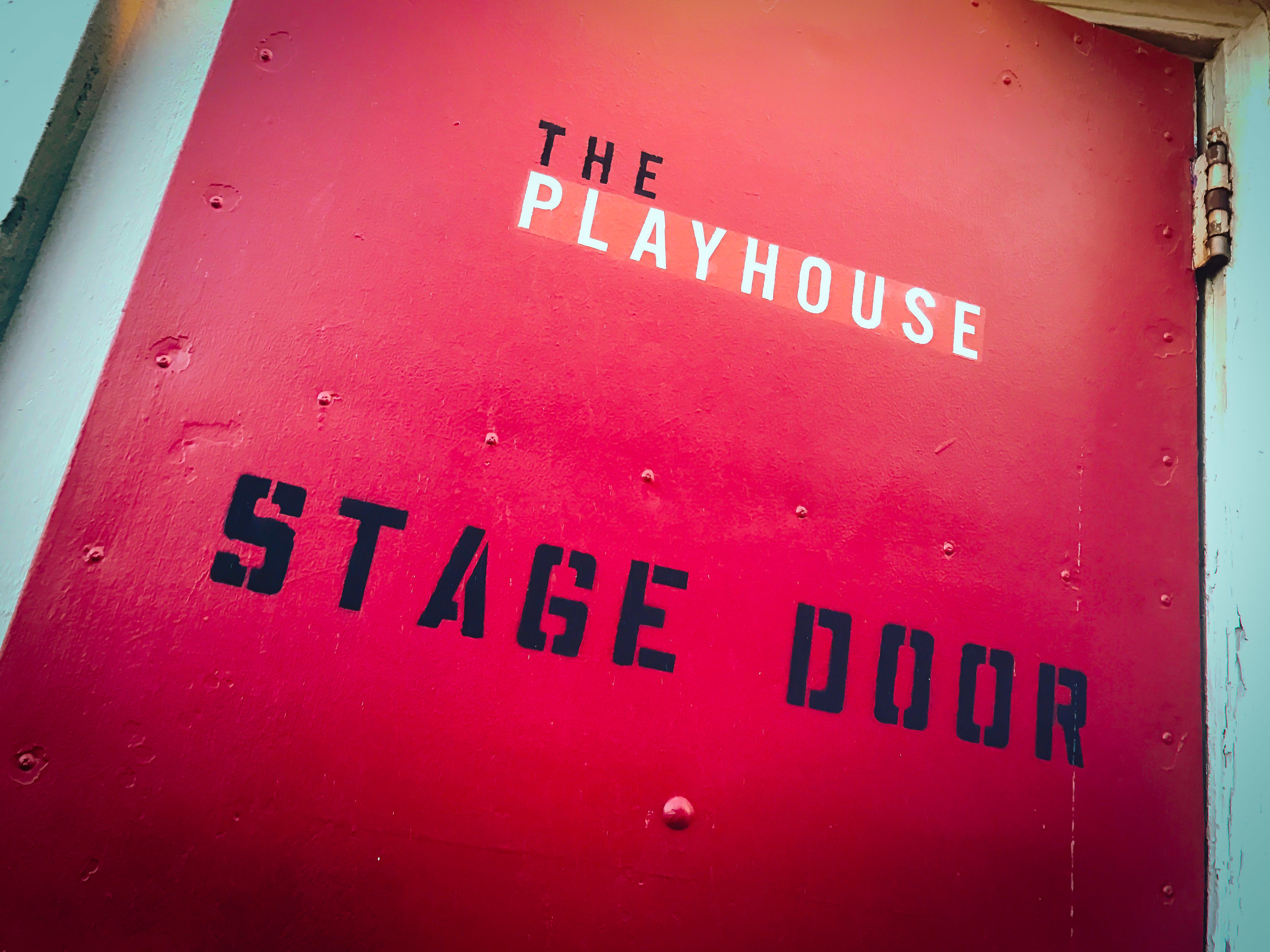 The Famous Red Stage Door