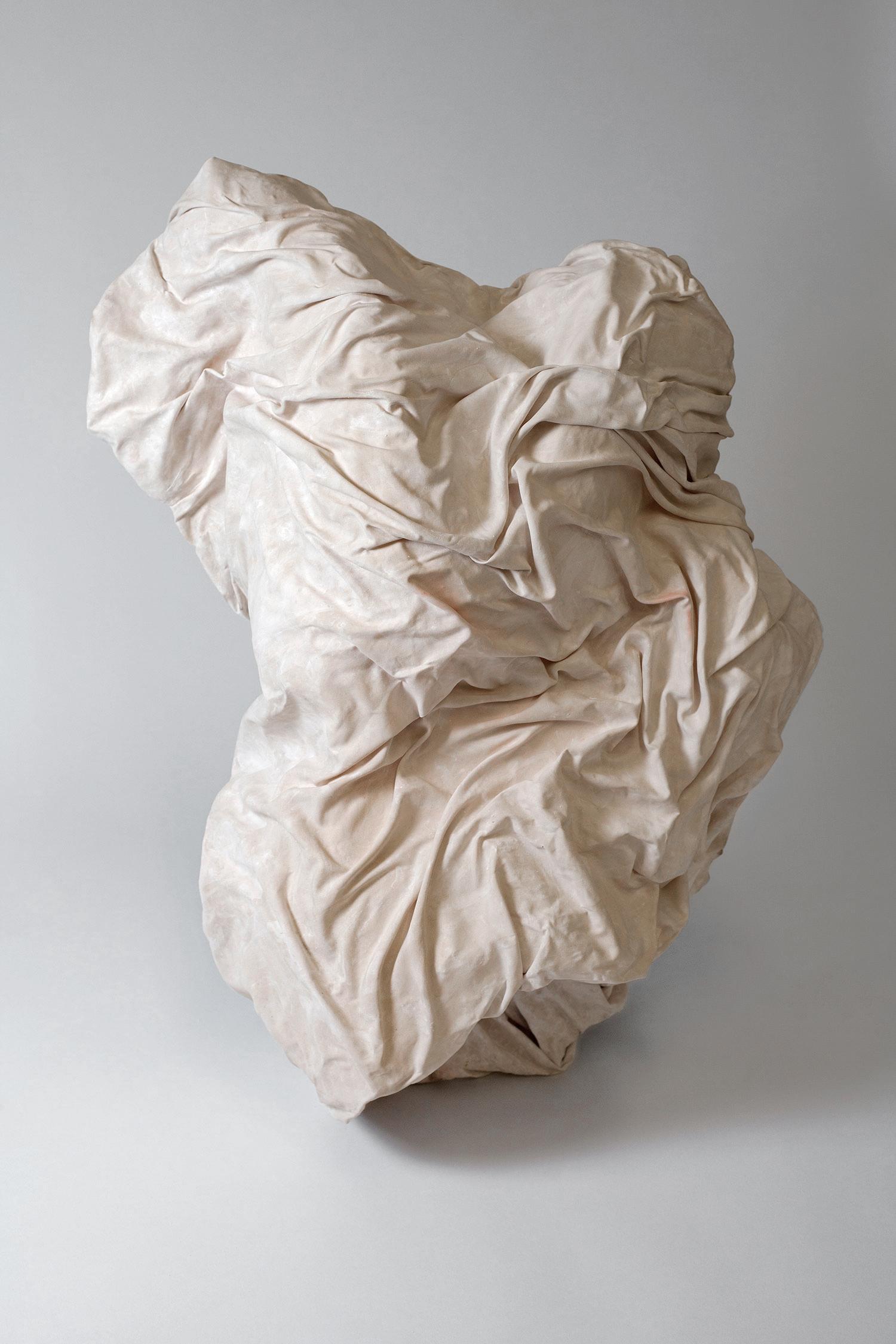 Kelsey McGruer, Full Of Praise For The Statuary of The Greeks, Sculpture, Plaster, 2016
