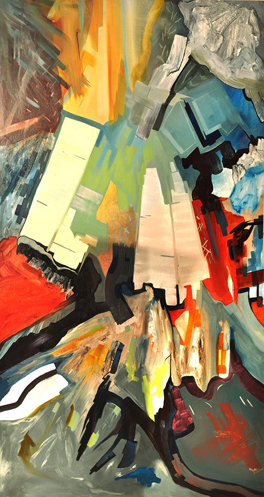 Veronica Keith,  Memory Palace Series: Windmill , 2016