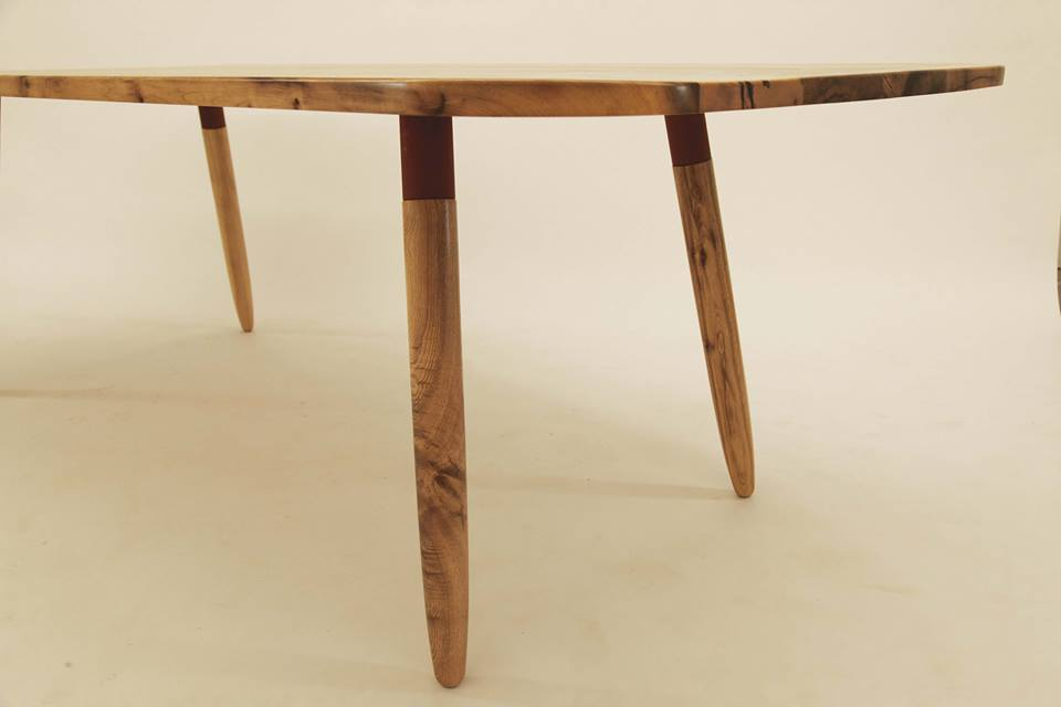 North Vancouver Residence // Mid-century Myrtle Dining Table