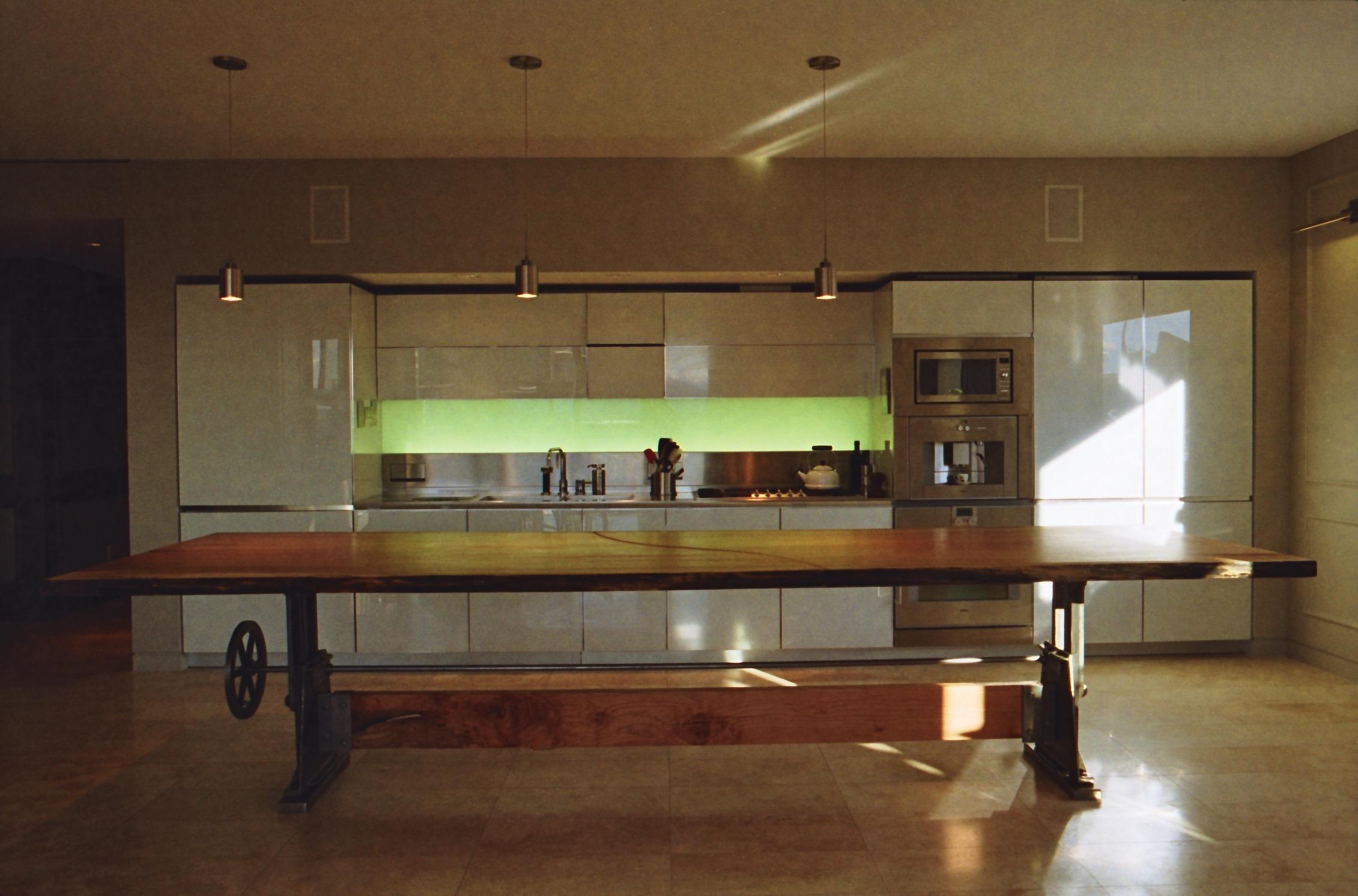 Ainsworth Residence //Big Leaf Maple Slab