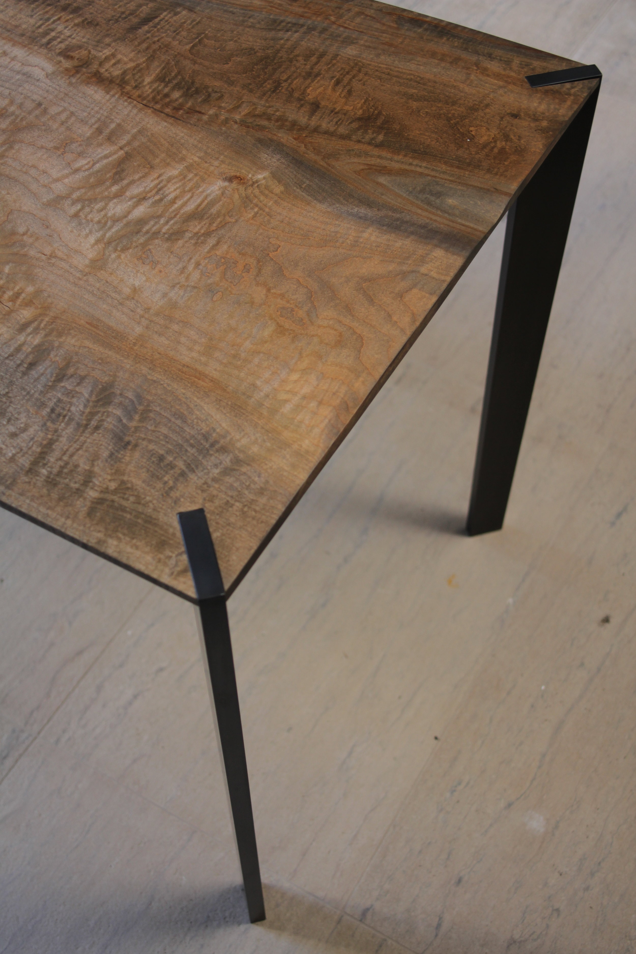 Point Grey Residence //Figured Maple Dining Table