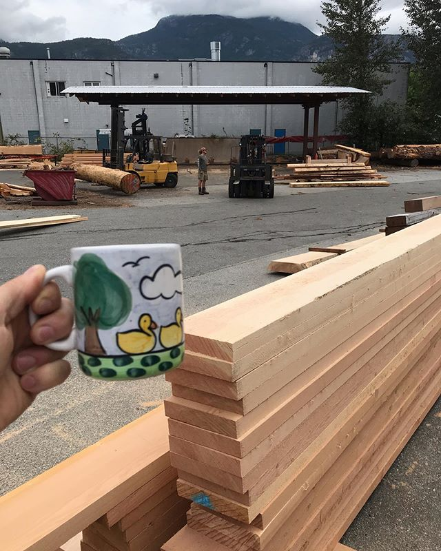 Just crushing Joes and some douglas fir timber packages on a Friday, you? #joeverdose