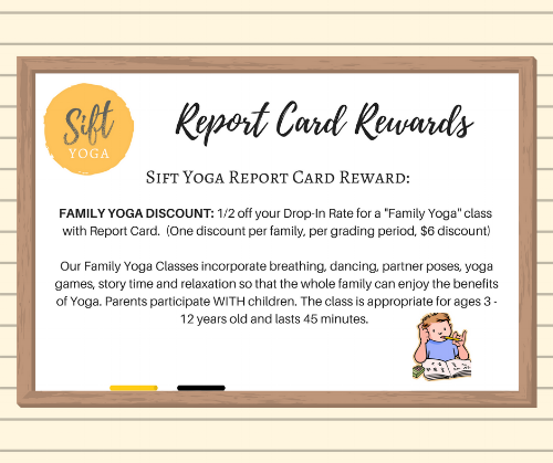 Family Yoga Classes are offered a few times a month -  Click here  to see class schedule!