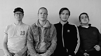 Foto: Tirades (f.v: Mathias Simonsen, Remi Arefjord, Markus Den Ouden og Esteban Munoz)