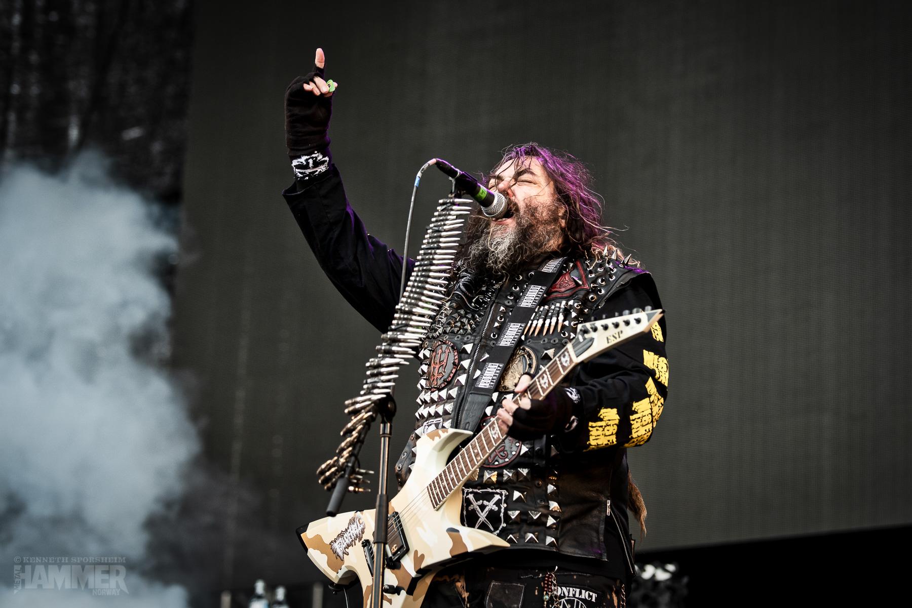 Max Cavalera og Soulfly på Tons of Rock (Foto: Kenneth Sporsheim)